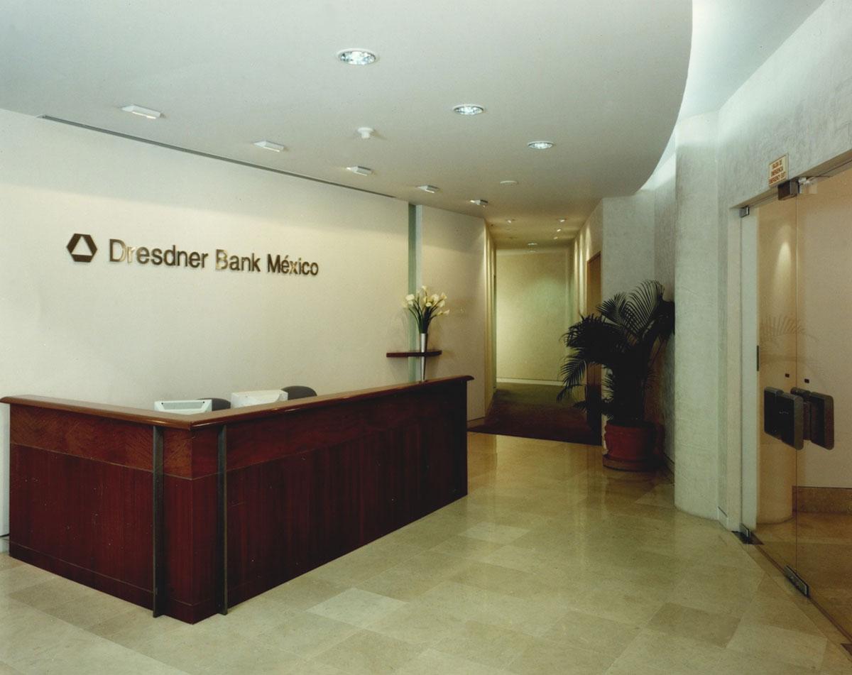 Mac dresdner bank for Diseno interiores mac